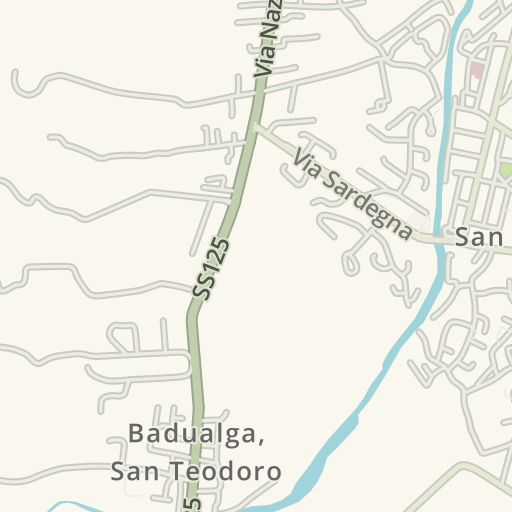 Cartina Di San Teodoro Sardegna.Driving Directions To L Osteria Di San Teodoro 4 Via Rinaggiu San Teodoro Waze