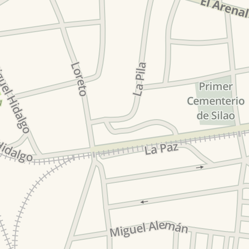 Waze Livemap Driving Directions To Hot Wings Silao Mexico