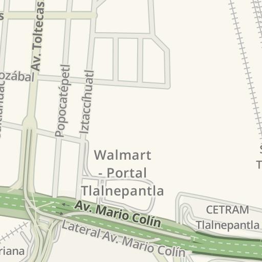 Tlalnepantla Mexico Map.Waze Livemap Driving Directions To Correos De Mexico