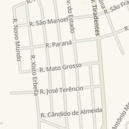 Waze Livemap - Como Chegar a J Ferramentas, Presidente Venceslau, Brazil 762b43b11b