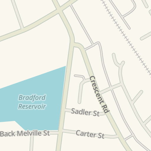 Waze Livemap - Driving Directions to Splash N Dash, Bolton, United on