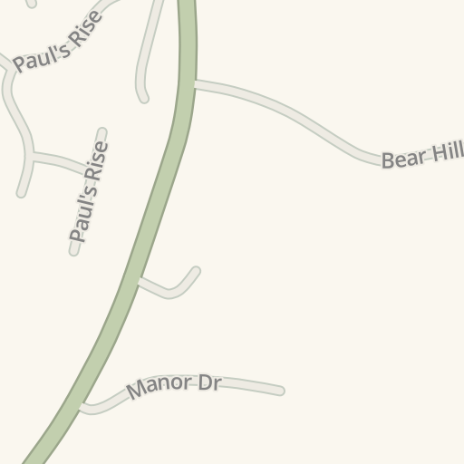Waze Livemap - Driving Directions to Sofas & Stuff, Woodchester ...