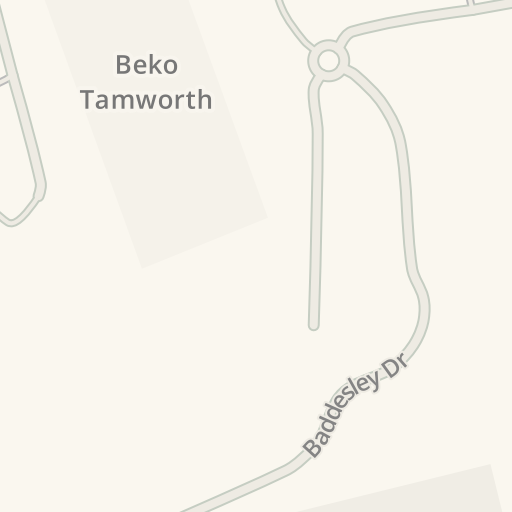 Waze Livemap Driving Directions To Euro Car Parts T2 Baddesley