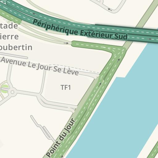 Waze Livemap - Driving Directions to Supermarché A2pas, Paris, France