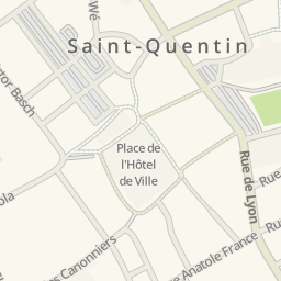 Map Of Saint Quentin France.Waze Livemap Driving Directions To Esso Saint Quentin Saint