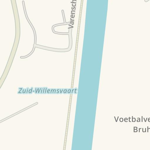 waze livemap driving directions to vadain gordijnen helmond netherlands
