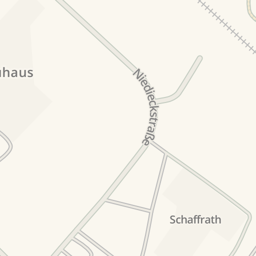 Waze Livemap - Driving Directions to Seats & Sofas, Krefeld, Germany