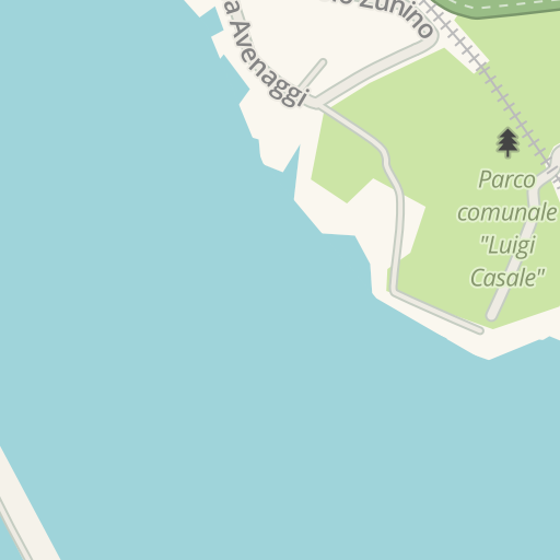 Waze Livemap Driving Directions To P Rapallo Italy