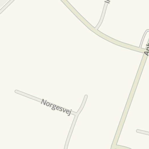 Waze Livemap Driving Directions To Fakta Hammel Denmark