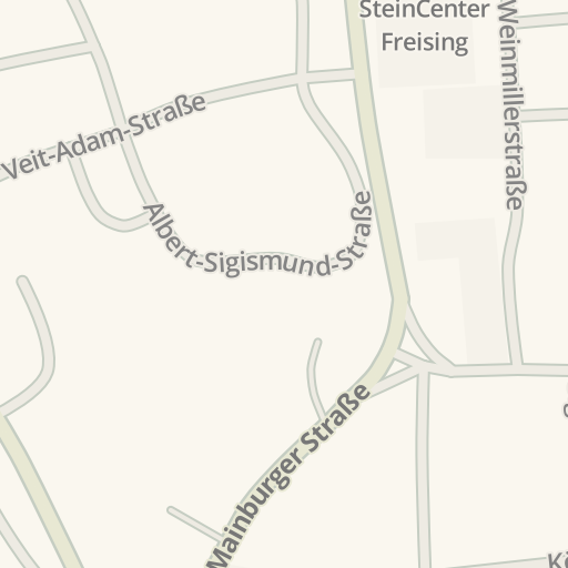 Freising Germany Map.Waze Livemap Driving Directions To Steincenter Freising Freising