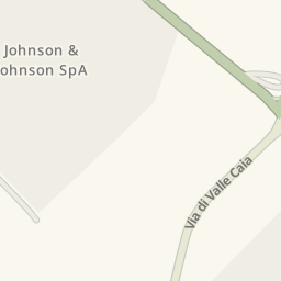 Waze Livemap Driving Directions To Johnson Amp Johnson