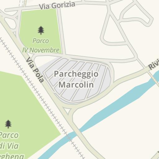 Waze Livemap Driving Directions To Stazione Ferroviaria Di