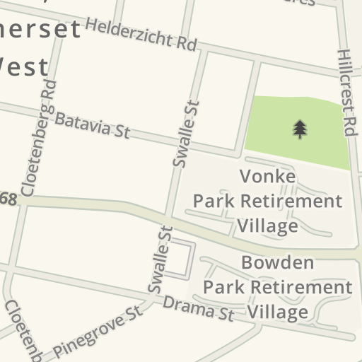 Waze Livemap - Driving Directions to 2nd Somerset West