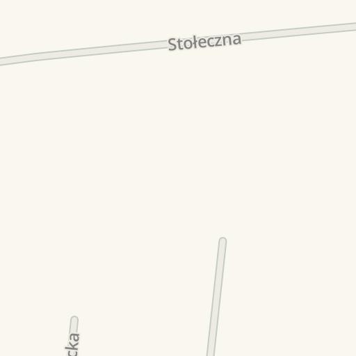 Waze Livemap Driving Directions To 123 łazienka Płochocin