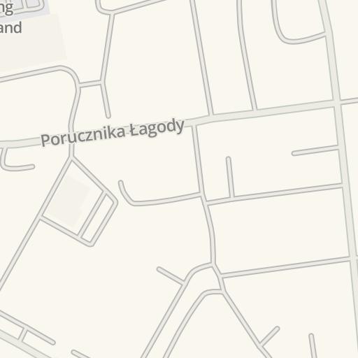 Lomza Poland Map.Waze Livemap Driving Directions To Lomza Sybirakow 11 Lomza Poland