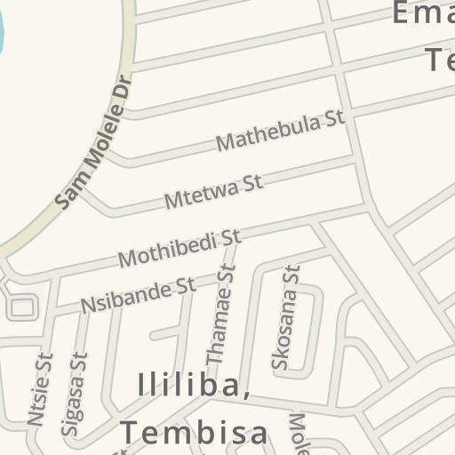 Waze Livemap - Driving Directions to Engen Tembisa, Isekelo, Tembisa ...