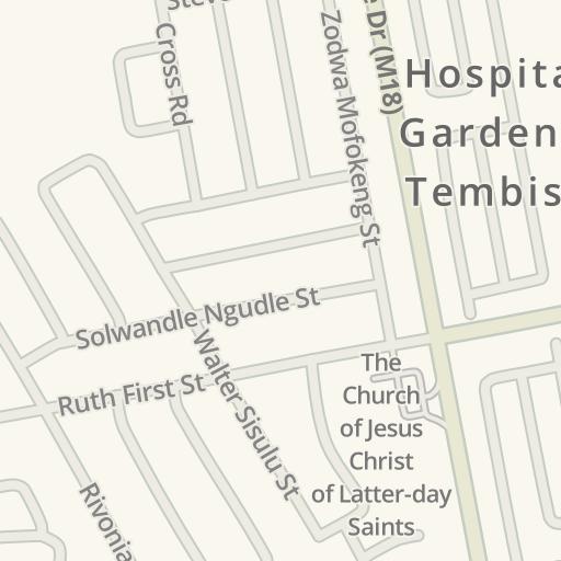 Waze Livemap - Driving Directions to Tembisa Hospital, Tembisa ...