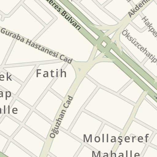 Driving Directions to Protel lg service center, Hocaüveyz