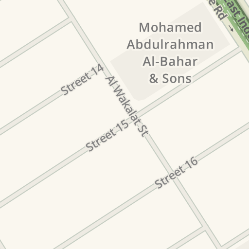 Driving Directions to Al noor garage street no 13 gate 83