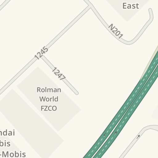 Driving Directions to Civil Defence - Jebel Ali Fire Station
