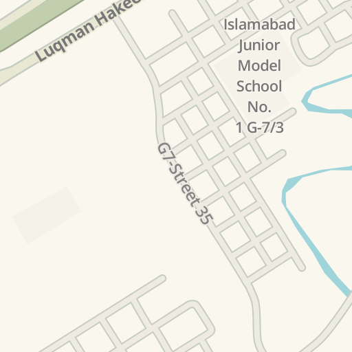 Driving Directions to Sitara Market, Islamabad - اسلام آباد