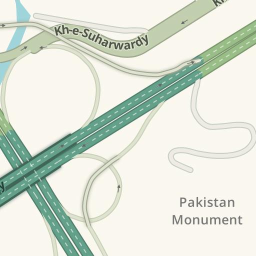Driving Directions to Urdu university Islamabad zero point
