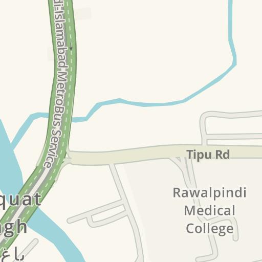 Driving Directions to Government Gordon College, Rawalpindi - ر