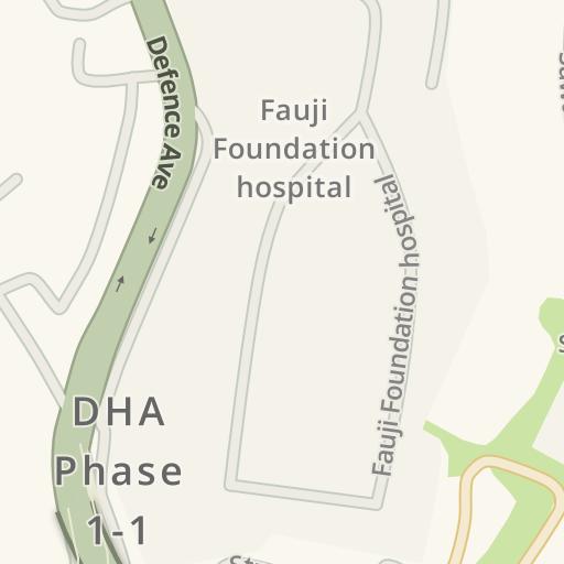 Driving Directions to Ayub Park Play Land, Rawalpindi