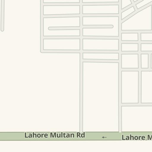 Driving Directions to UBL,Depalpur Road,Okara, Okara