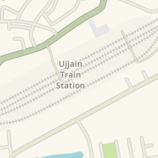 Ujjain India Map.Waze Livemap Driving Directions To Vivekanand Colony C Sector Park