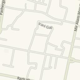 Charminar Map on