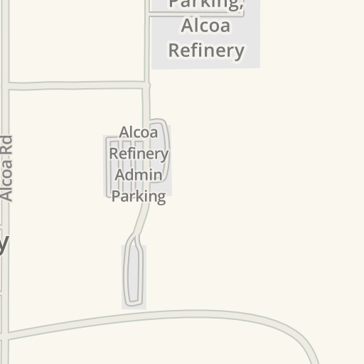 Driving Directions to Alcoa Refinery Main Parking, Pinjarra