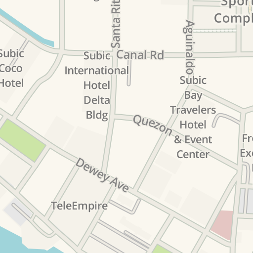 Waze Livemap Driving Directions To Subic Creative Center Subic