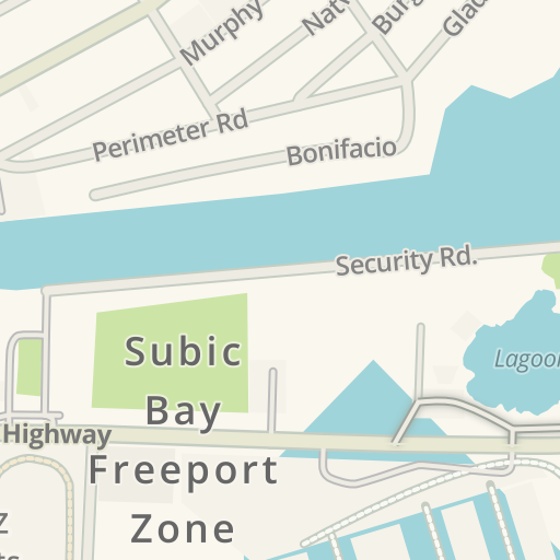 Waze Livemap Driving Directions To Nocturnal Disco Subic Bay