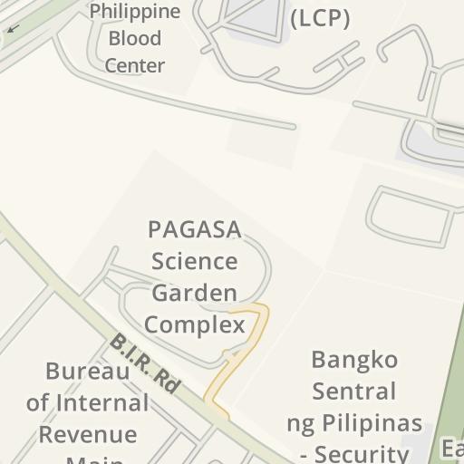 Driving Directions to NAPOCOR Complex, Quezon City