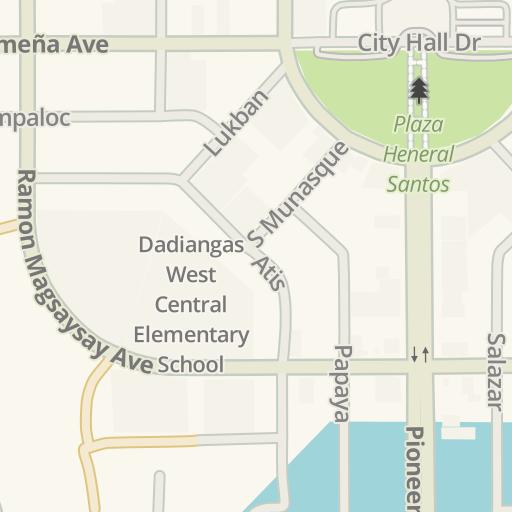 Waze Livemap - Driving Directions to LBC Daproza, General Santos ...