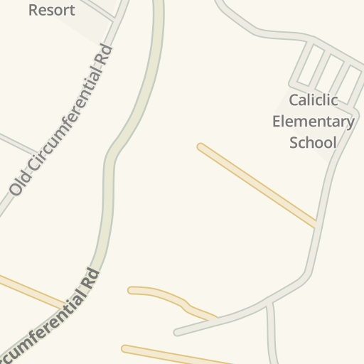 Waze Livemap - Driving Directions to El Magic Beach Resort, Davao ...