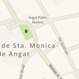 Driving Directions To Sta Cruz Angat Bulacan Angat Philippines - Bulacan map philippines