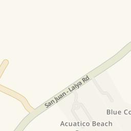 Driving Directions To Aqua Verde Beach Resort San Juan B - Acuatico beach resort map