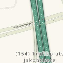 Driving Directions To OKQ Enköpingsvägen Järfälla Järfälla - Jarfalla sweden map