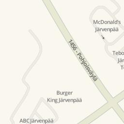 Driving directions to Kcitymarket Jrvenp Jrvenp Finland