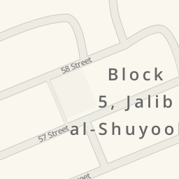 Driving directions to Garage Block 4 Jleeb Al Shuyoukh Kuwait